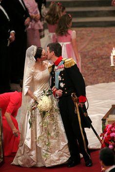 Crown Prince Frederick & Crown Princess Mary of Denmark Mary Of Denmark, Denmark Royal Family, Danish Royal Family, Crown Princess Mary, Prince And Princess, Princesa Mary, Royal Brides, Royal Weddings, Mary Donaldson