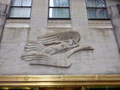 Photo-ops: Art Deco Bas-Relief: Morning, Present, Evening - Rockefeller Center, NY, NY