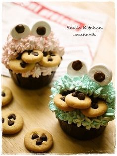 Cookie Monster Muffin