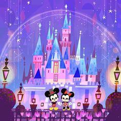 Joey Chou — Here's my color interpretation of the @fao... Arte Disney, Disney Love, Disney Pixar, Phineas And Ferb Memes, Joey Chou, Pixel Color, 65th Anniversary, Lights Artist, Photo Sketch