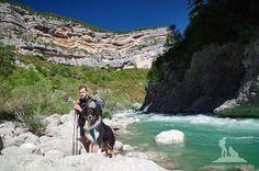 Wandern mit Hund in der Verdonschlucht