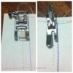 Artes e Arteirices: Dica de Costura: Margem de Costura