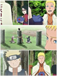 Sarada is the image of both Sasuke and Sakura for Naruto ❤️❤️❤️ I love it