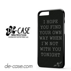 Avenged Sevenfold Lyrics DEAL-1187 Apple Phonecase Cover For Iphone 6 / 6S