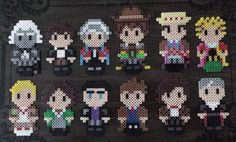 Doctors - Dr Who perler beads by by Joanne Schiavoni