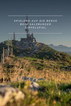 Beim Salzburger Gipfelspiel wandert ihr spielend auf 7 Gipfel in der Salzburger Sportwelt. Bei jedem Gipfel gibt es ein Ritual, dass euch die Natur und euch wieder bewusster wahrnehmen lässt. Mountains, Games, Nature, Nice Asses