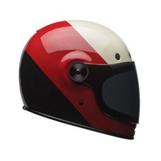 Bell Bullitt Helmet - Helmets - Motorcycle Parts and Riding Gear - Roland Sands Design Retro Helmet, Vintage Helmet, Custom Motorcycle Helmets, Motorcycle Types, Custom Helmets, Racing Helmets, Scrambler Motorcycle, Motorcycle Gear, Motos Vintage