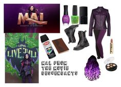 Mal Daughter of Maleficent by captain-jordan-808 on Polyvore featuring polyvore and art