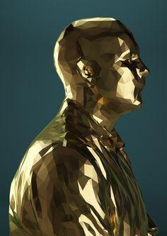 Kinect Portraits, Mike Pelletier
