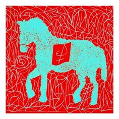 red horse impresiones http://www.zazzle.com/red_horse_impresiones-228679795340230627?lang=es