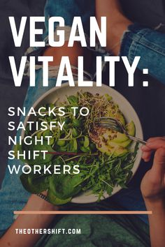 Are you a shift worker struggling to keep your eyes open? Have you ever considered a big reason for this could be your diet? Well, we're here to tell you that a vegan way of living could be your answer. Veganism is more common than you may think and we've put together everything you need to know when it comes to shift / night shift workers transitioning to this amazing way of living. Enjoy! | vegan prep meals | vegan night shift snacks | healthy vegan recipes | #vegansnacks #nursevegan Healthy Eating Recipes, Healthy Meal Prep, Vegan Snacks, Nutritious Meals, How To Stay Healthy, Delicious Recipes, Whole Food Recipes, Healthy Life, Healthy Snacks