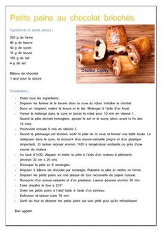Petits pains au chocolat briochés - Doulou Cooky