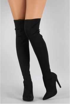 """Catch Up"" Over the Knee Boot"