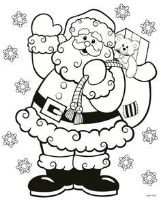 7 Best Merry Christmas coloring pages images | Christmas ...
