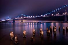 The golden gate bridge and the San Francisco bay (USA)