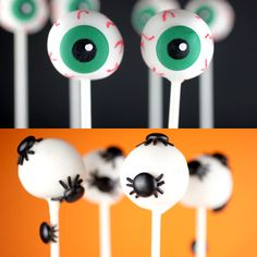 Creepy Cake Pops