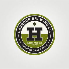 Like the color ways on the different beers, like that the brand is easily visible, Jason doesn't like the giant H. But this has nice nautical elements and it's very clear who makes the beer.