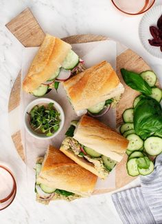 Chickpea Pan Bagnat Sandwiches | Love and Lemons | Bloglovin'