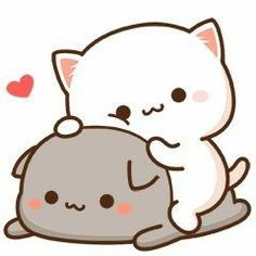 LINE Creators' Stickers - Kanoon cute girl animated Example with GIF Animation Cute Animal Drawings Kawaii, Cute Kawaii Animals, Cute Cartoon Drawings, Cute Cartoon Images, Cute Love Cartoons, Cute Cartoon Wallpapers, Cute Love Pictures, Cute Love Gif, Chibi Cat