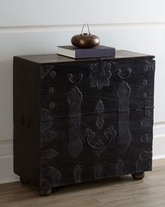 Vintage Wedding Chest at Horchow.  Beautiful oriental chest.