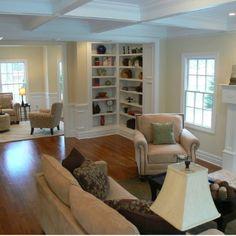 Living Room Traditional Family Rooms Corner Bookshelves Room Design