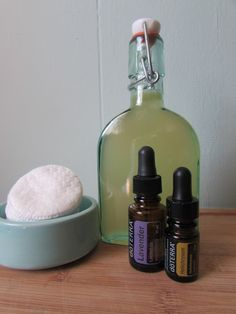 All natural toner recipe, with essential oils
