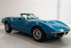 1968 Chevrolet Corvette Sting Ray Convertible 427 #GTClassic @GTClassic
