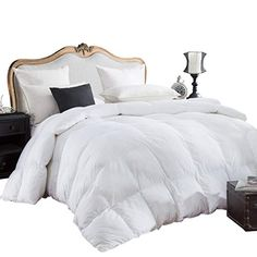Twin XL, Black,White Solid Italian Finish 2 Piece Comforter Set 100/% Egyptian Cotton 1 Pcs Comforter 300 GSM 1 Pcs Reversible Duvet Cover 1000 Thread Count Pattern Solid