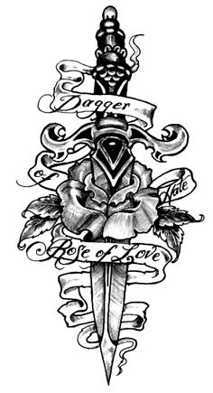 it would be interesting to make my peter pan tattoo in the classic dagger style like this. with maybe leaves and little details like an acorn, thimble.. etc and i'd have to pick a quote. the most un-disney design i can think of.