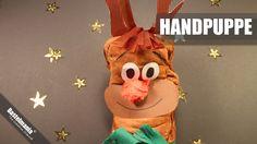 Weihnachts Rentier / Christmas Reindeer / Handpuppe / Puppet