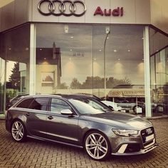 Audi (RS6).... This grocery getter will be in my driveway and soon as they bring it States side.