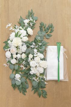 2pcs Flower Arch Décor with Sheer Drape (Pack of 3) - Timeless White Cascading Wedding Bouquets, Wedding Arch Flowers, Wedding Ceremony Backdrop, Cascade Bouquet, Diy Wedding Bouquet, Outdoor Wedding Ceremonies, Ceremony Arch, Wedding Colors, Green And White Wedding Flowers