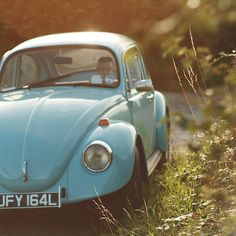 """blue beetle .. OH!!  My """"baby porshe"""" I had when I lived in Germany .. :claps hands:"""