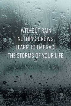 awesome Inspirational Quotes About Life: How Learn To Embrace The Storms Life Quotes