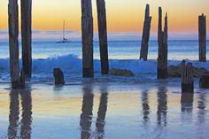 Sunset sail by sugarmuser