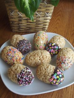 Rice Krispie eggs | chaQula