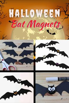 Halloween Activities For Kids, Halloween Crafts For Kids, Diy Halloween Decorations, Halloween Diy, Crafts From Recycled Materials, Upcycled Crafts, Art Projects For Teens, Diy Projects, Craft Instructions For Kids