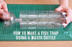 """How to Make a Fish Trap Using a Water Bottle - If you're looking for a way to catch food using the least amount of effort, consider building a fish trap using a water bottle. You might be thinking, """"A water bottle? There's no way that could work!"""" When I first learned about this method, I was a bit skeptical too... that is, until I tried it!"""