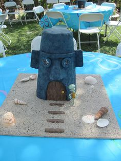 Squidward's house cake