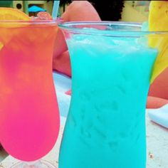 alcoholic drinks that's a pretty color! Lol