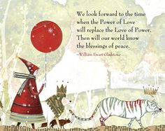 HOLIDAY CARD #331 Power of Love set of 6