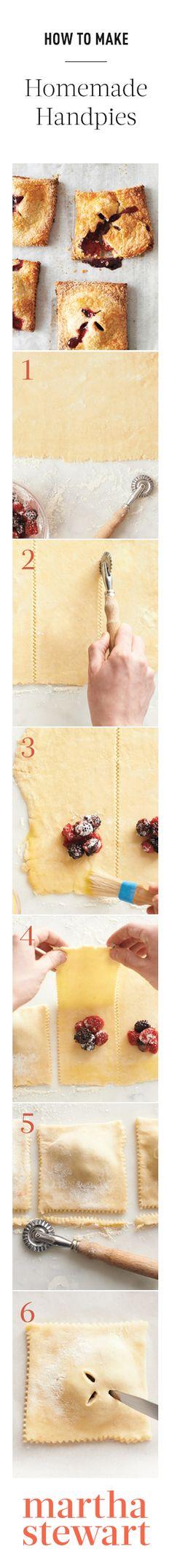 How To Make: Homemade Handpies