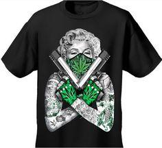 ... LEAF 420 TATTOOS Design Baumwolle Tops T Für Männer Frauen T-shirt