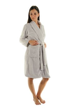 a0a7687de7 Robe de chambre Polaire Bea Christian Cane Dressing gown Christian cane Chez -mademoiselle.com