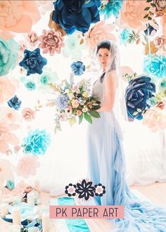 We will customize flowers for any occasions. Table arrangement, loose flowers for photo backdrop, full flower wall.