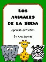 Los animales de la selva- Spanish resources