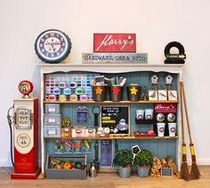 Ideas para jugar a las tiendas. DIY ferretería infantil