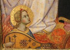 Andrea di Bartolo - Incoronazione della Vergine, dettaglio - 1405-1407 - Galleria Franchetti, Ca 'd'Oro, Venezia