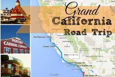 This year, take your family on a grand California Road Trip down the coast. From San Francisco to San Diego, there is something for everyone.