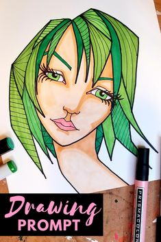 Improve your face drawing skills for FREE with mixed media artist, online art teacher & author, Karen Campbell! Join in the fun with her 100 Face Drawing Challenge beginning in November 2018! You will love receiving beautiful sketchbook inspiration every Friday for the next 20 weeks. Draw each face 5 ways! Learn more & get drawing prompt #1 in this YouTube video.  #karencampbellartist #awesomeartschool #mixedmediaartist #100funfabfaces #facedrawing #drawingchallenge #drawingprompt